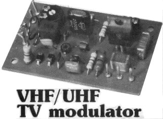 finished rf modulator picture