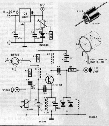 RF MODULATOR D.I.Y. on wifi transmitter schematic, vlf transmitter schematic, rf transmitter schematic, cellular transmitter schematic, am transmitter schematic, bluetooth transmitter schematic, television transmitter schematic, hf transmitter schematic, shortwave transmitter schematic, 900 mhz transmitter schematic, elf transmitter schematic, tv transmitter schematic, cw transmitter schematic, radio transmitter schematic, fm transmitter schematic,